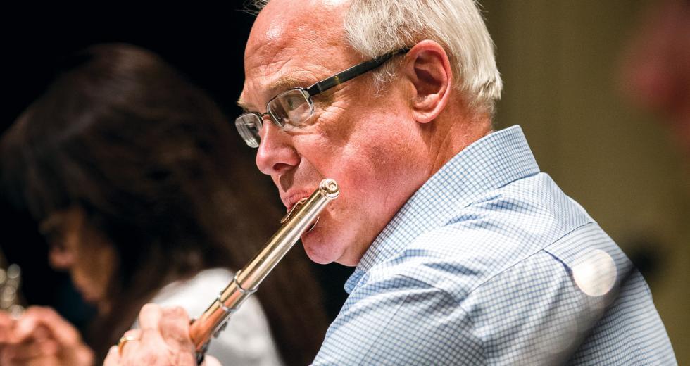 Mathew Krejci is the principal flutist for the Sacramento Philharmonic & Opera