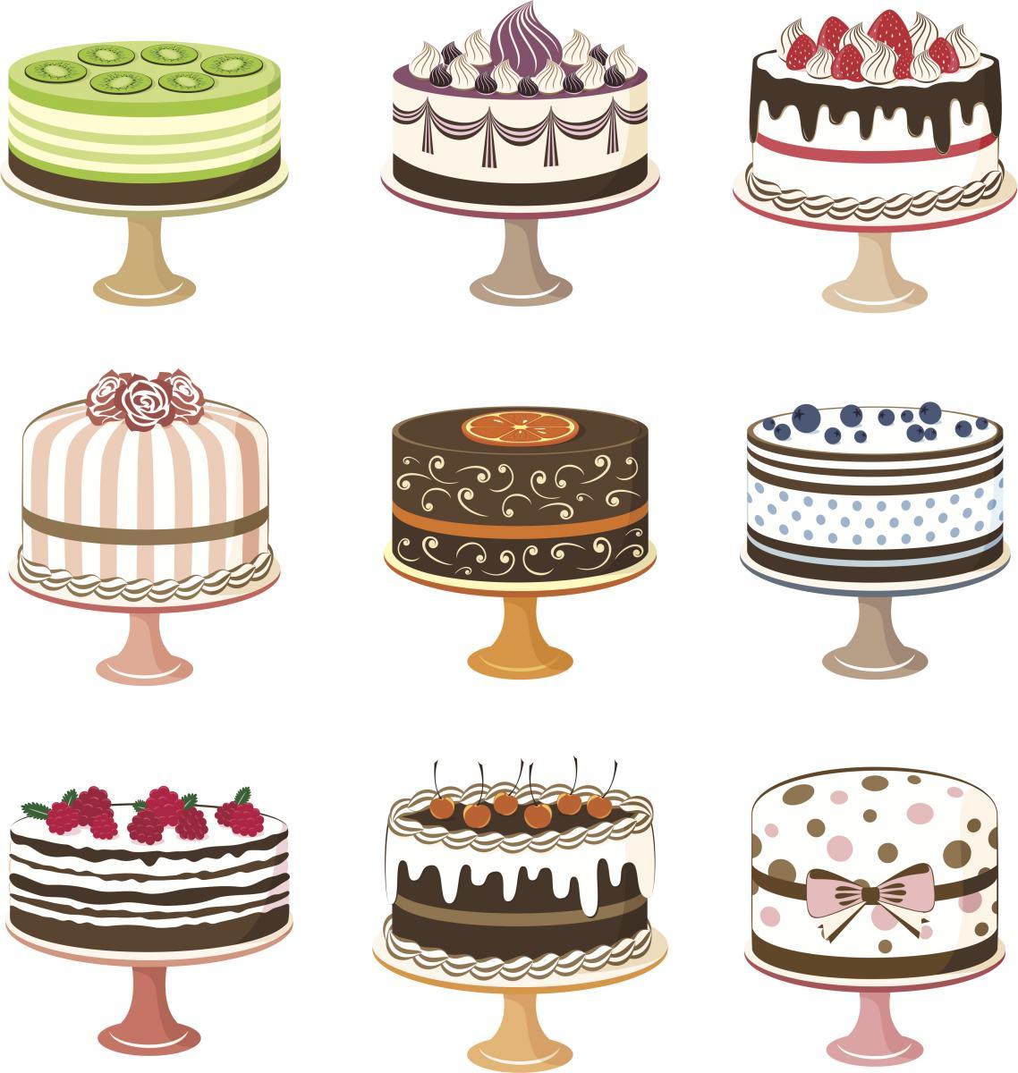 Simple Cake Walk Ideas