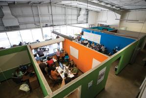 Sacramento tech incubator Hacker Lab recently moved from an 800-square-foot office to a 10,500-square-foot facility that offers co-working space and proximity to downtown amenities.