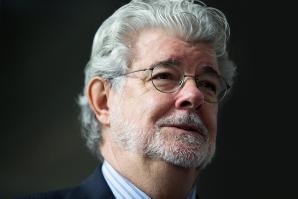 George Lucas is searching for a home for the Lucas Museum of Narrative Art. (Bloomberg / Nicky Loh)