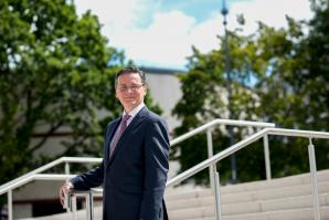 Professor Sean Hand is dean of Warwick in California's Graduate School, which will enroll students beginning in 2018.