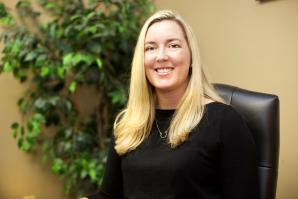 Alexandria Goff opened her own practice right out of law school. She specializes in estate planning, probate and equine law.