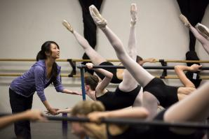 As principal of the School of the Sacramento Ballet, Melanie Haller trains the Pre-Professional Division — the school's three highest levels (ages 10 to 18-and-up).
