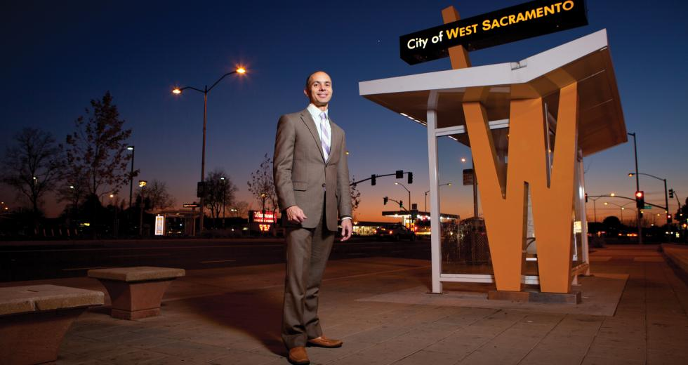 Christopher Cabaldon became the first mayor directly elected by West Sacramento voters in November 2004 and is currently serving his fourth elected term in that position.