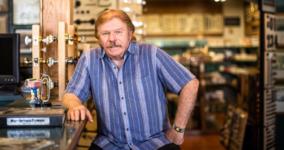 "Bryan ""Mac"" McIntire plans to close his Mac the Antique Plumber store and switch to an all-internet business model."