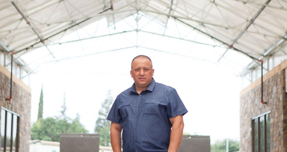 Ernesto Delgado, owner of downtown restaurant Tequila Museo Mayahuel and new Milagro Centre restaurant, Mesa Mercado.