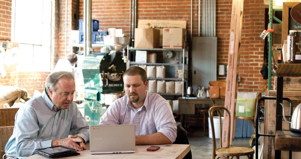 Sacramento duo Fred Pilot and Ryan Arba have teamed up to promote a world where working from home is the norm, not the exception.