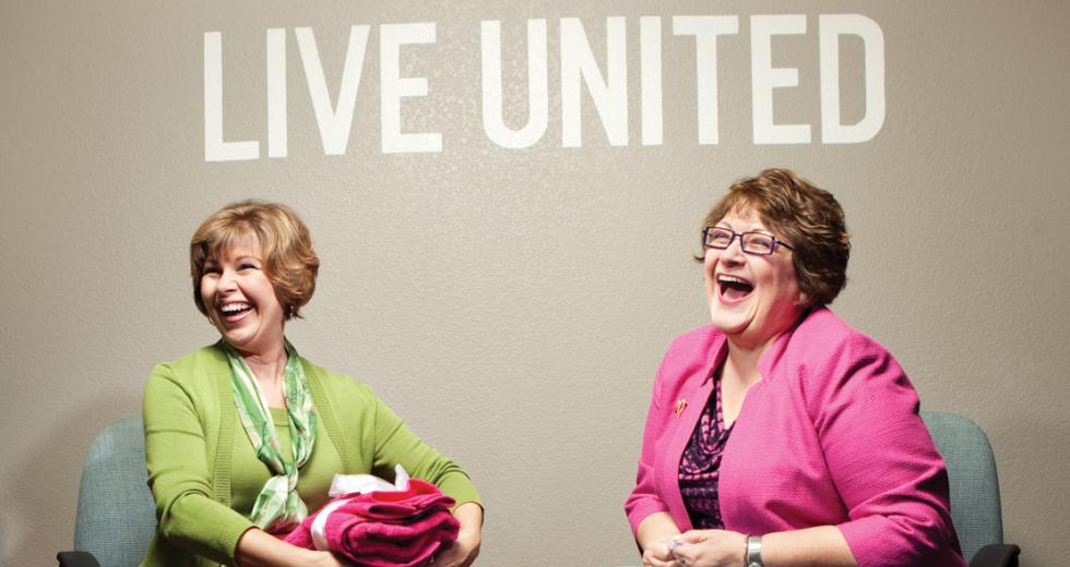 Lorrie Wilson and Ruth Miller are the new co-chairs heading the United Way's Women in Philanthropy program.