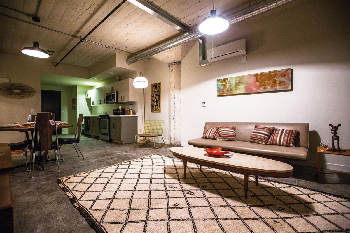 Awesome Units In The Renovated Industrial Space At Warehouse Artist Lofts Feature  Exposed Ductwork, Original Concrete