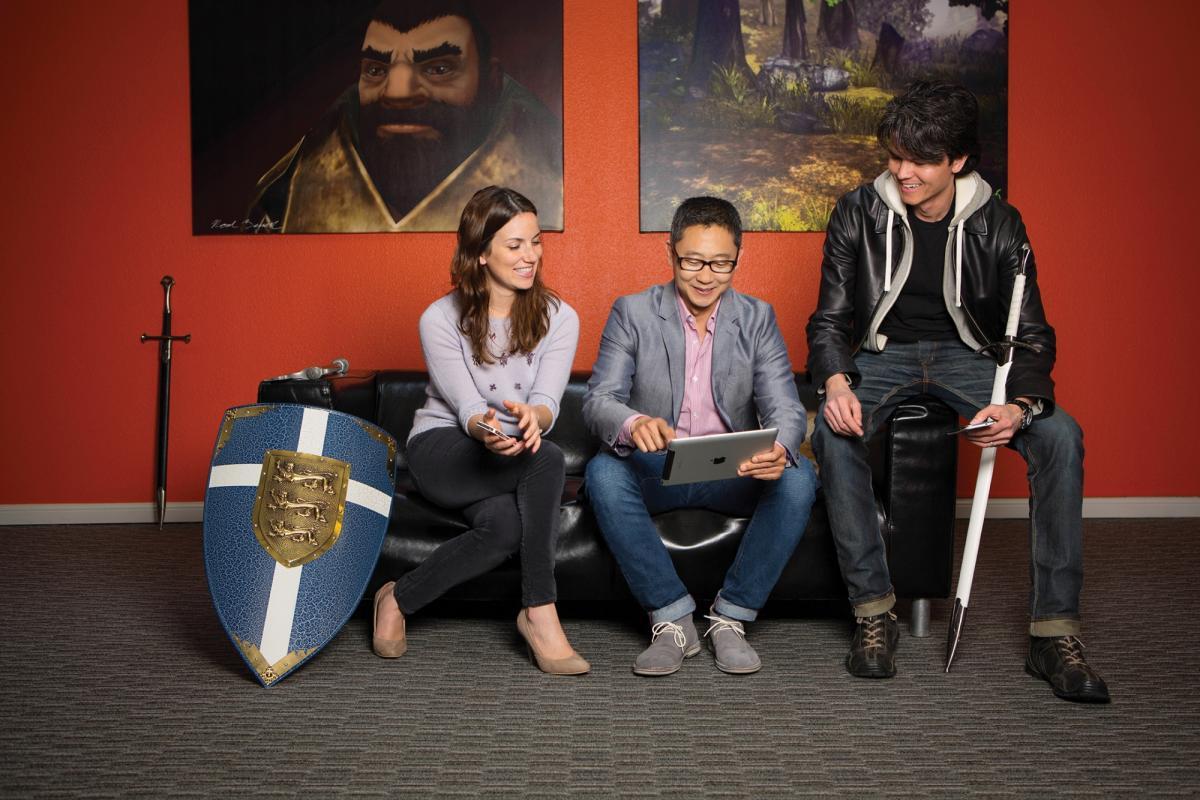 Color game ray otero - Loren Rozakos Lead Human Resources Business Partner Mark Otero And Robert Blair