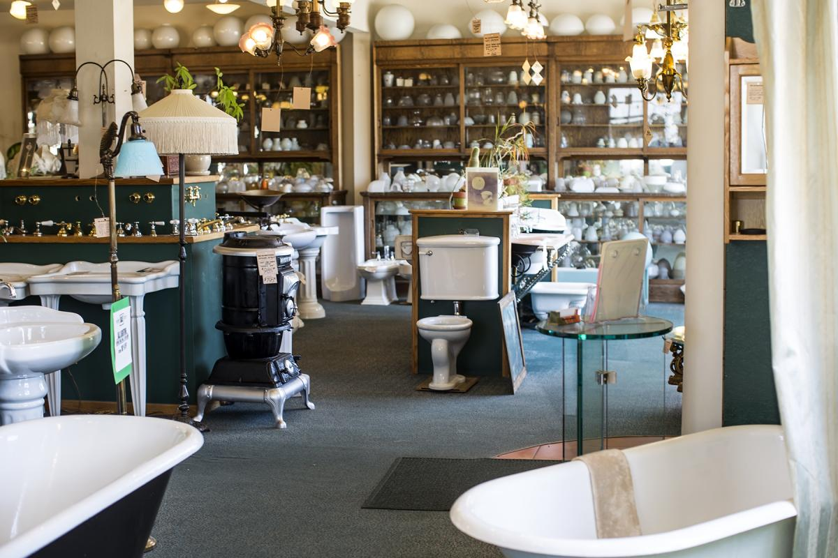 Mac the Antique Plumber Moving Retail Showroom Online | Comstock\'s ...