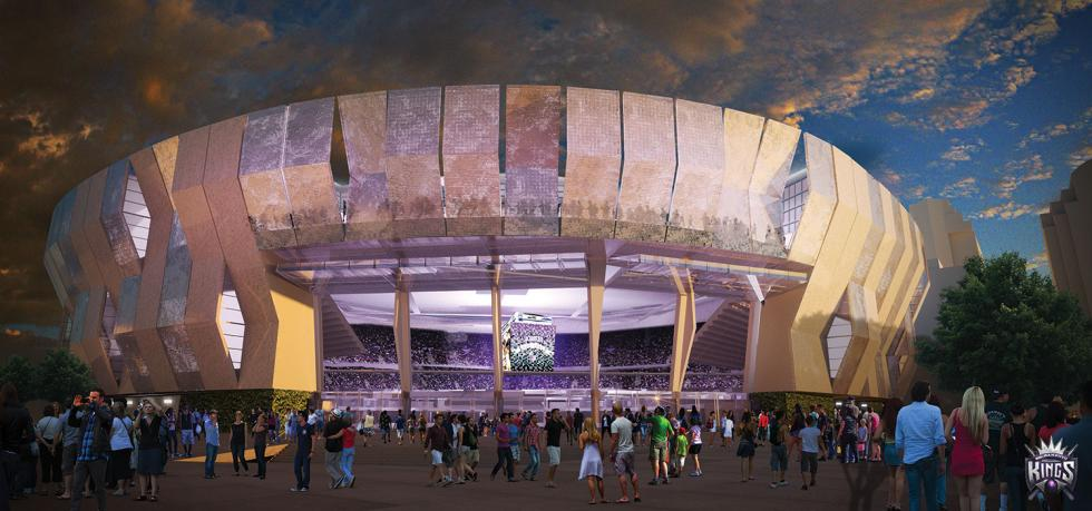 The bold design of Sacramento's Entertainment and Sports Center, by AECOM, may be the catalyst for a new architectural era in the River City.