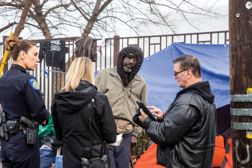 Last year, Sacramento Steps Forward rolled out a common assessment tool that allows them to connect unsheltered individuals to services more efficiently.