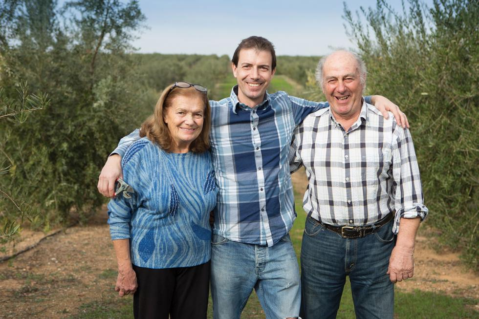 Santa, Sebastian and Angelo Bariani produce their eponymous artisan olive oil from fruit harvested by hand on their 182-acre orchard in Zamora.