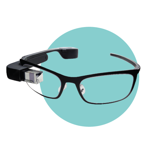 Google Glass is an optical, head-mounted display that allows users to bring their computer everywhere they go. A beta version was released in May of last year for $1,500, though there is still no word on when a consumer version will be available.