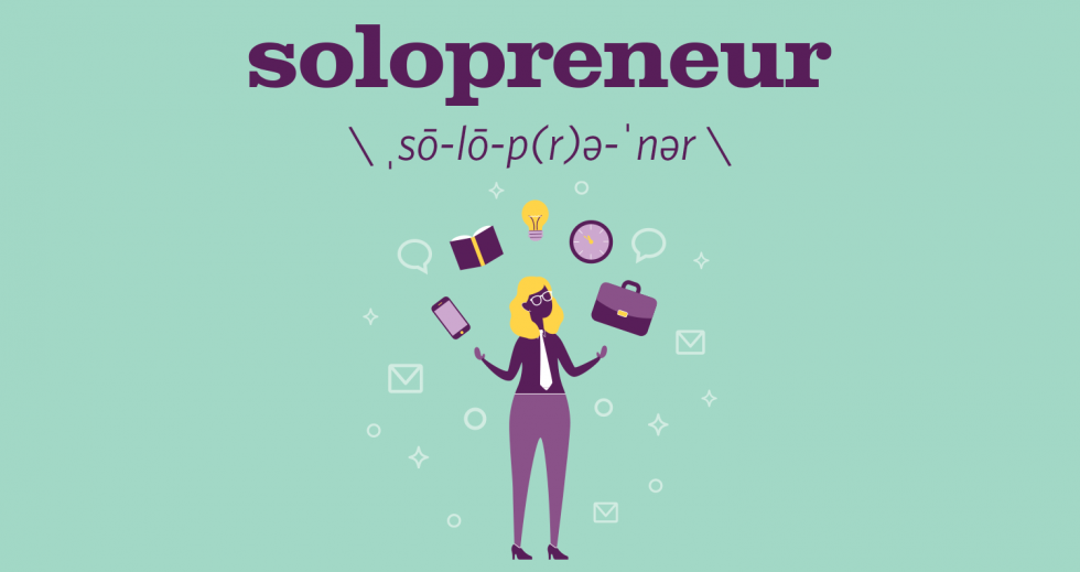 Buzzwords: Solopreneur | Comstock's magazine