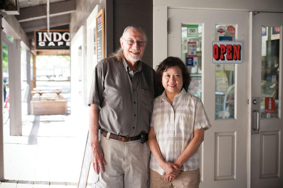 Jim and Tessa Scaife moved to Sacramento from New York to purchase and operate Old Sacramento's Indo Cafe.