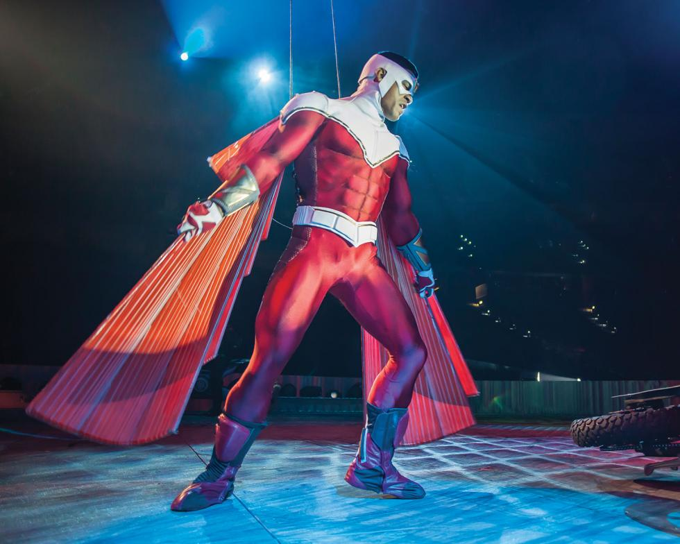 Marvel Universe Live! packed Sleep Train Arena in March with live-action comic book heroes and fans of all ages.(Photo courtesy of Field Entertainment)
