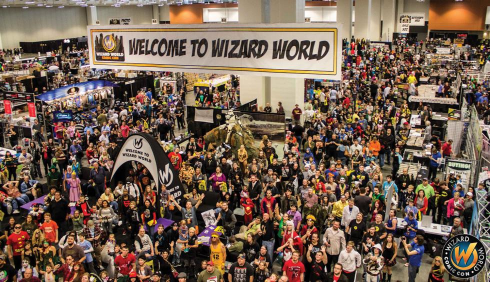 Nearly 30,000 people attended Sacramento's Wizard World Convention, providing an economic impact of nearly $2 million, according to the city's convention and visitor's bureau. (Photo courtesy of Wizard World)