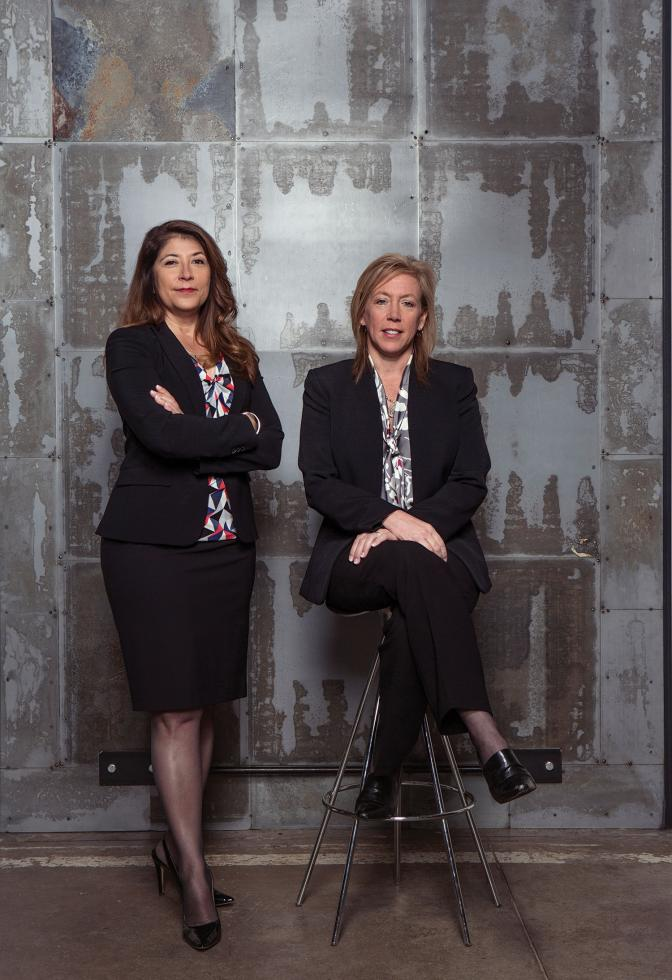 Monica Miller, special agent in charge, Federal Bureau of Investigation Sacramento Field Office; and Sacramento District Attorney Anne Marie Schubert