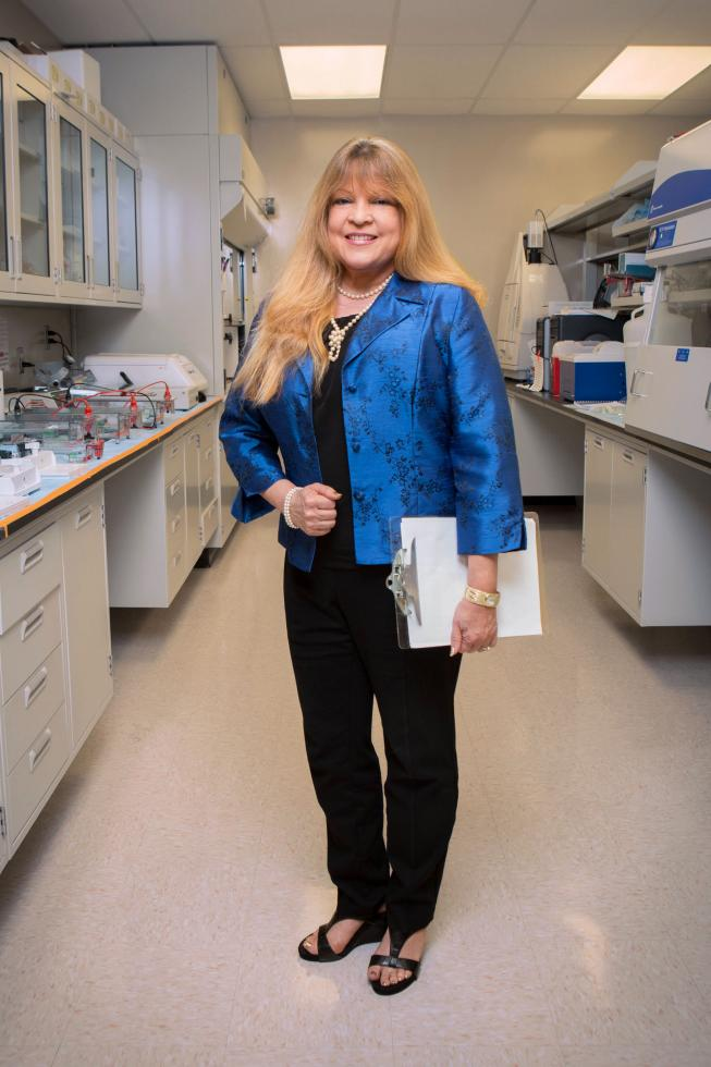 Jan Nolta, director of the UC Davis Stem Cell Program and Institute for Regenerative Cures, mentors 10 high school interns each summer. She says at least half are women.