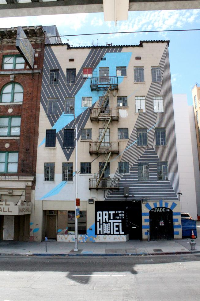 The Art Hotel exhibit in Sacramento attracted nearly 13,000 attendees. (Photo courtesy Christopher Hopkins)