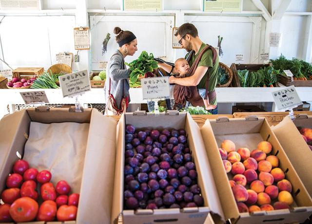 On Saturdays families can enjoy a rural farmstand experience in the city at Soil Born Farms' American River Ranch.