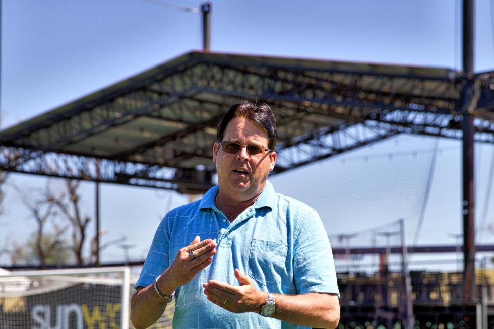 Bonney Field General Manager Eric Blockie says the facility will be home to live music, in addition to Sacramento Republic FC games. (Steve Martarano)