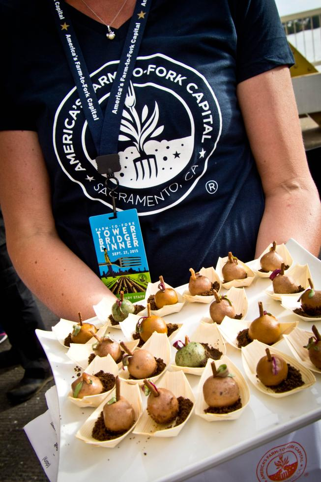 The third-annual Farm-to-Fork Festival in Sacramento will once again take place on Capitol Mall. (Photo courtesy SCVB)