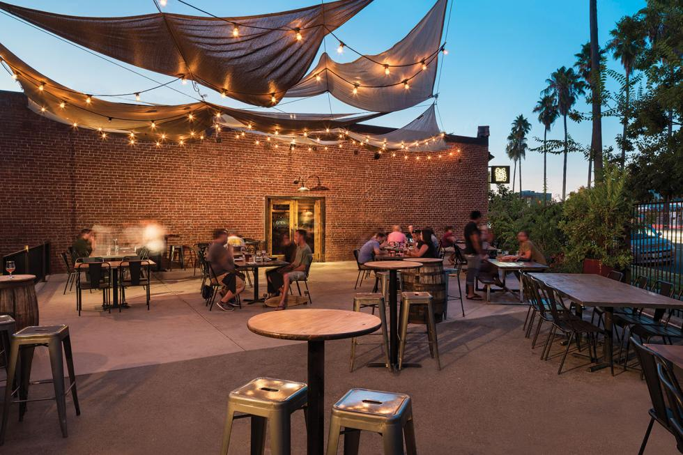 Oak Park Brewing Co.'s patio brings chic biergarten flavor to one of Sacramento's oldest and most dynamic neighborhoods.
