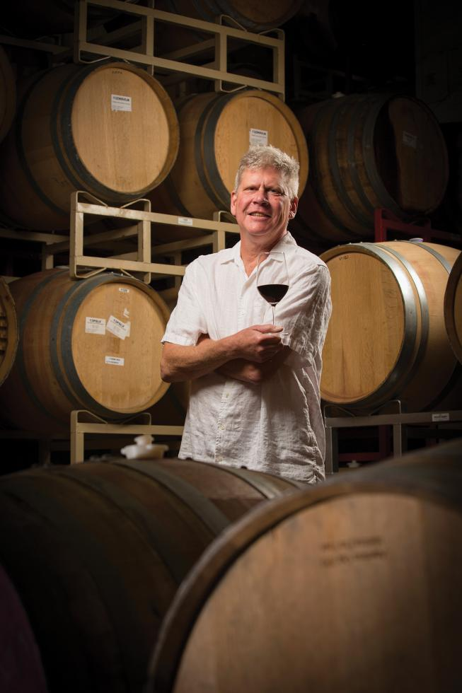 Layne Montgomery is a winemaker and