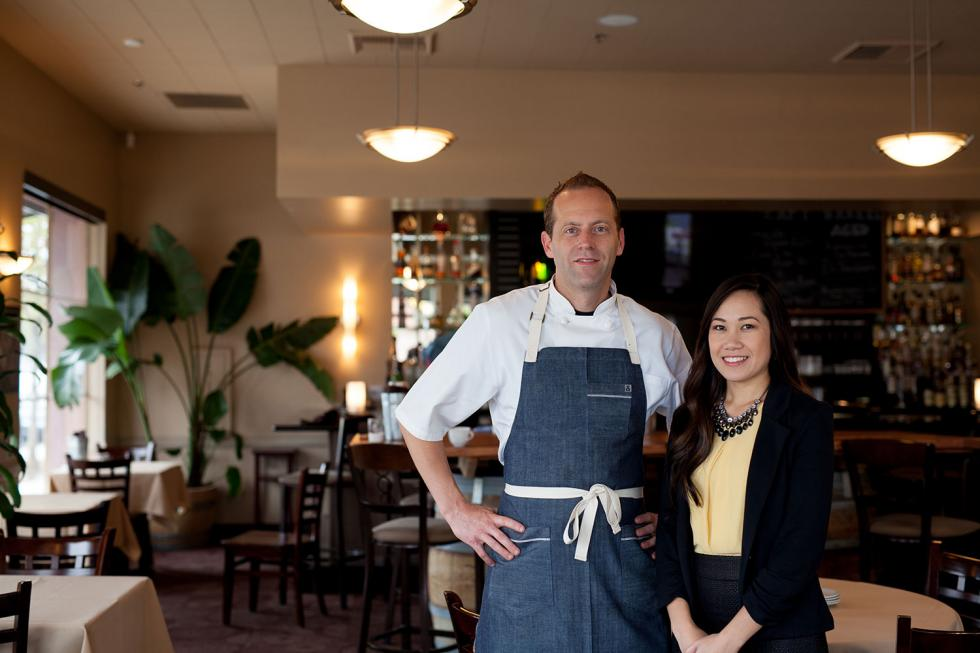 Chef Gabriel Glasier and his pastry chef, business parter and fiancée Kristel Flores say that their approach to keep things small helps retain quality employees while also cutting food costs.