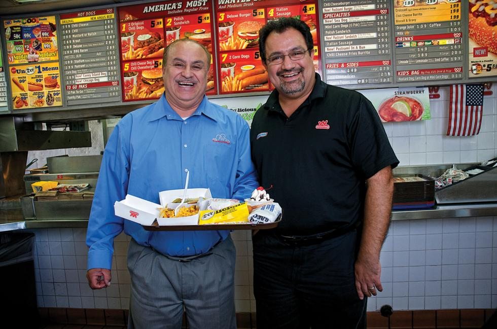 Haidar Junaid and Kamran Ghazi-Tehrani own Sacramento-area Wienerschnitzel restaurants. Both say they'd lose money if they tried selling their business based on today's valuations.