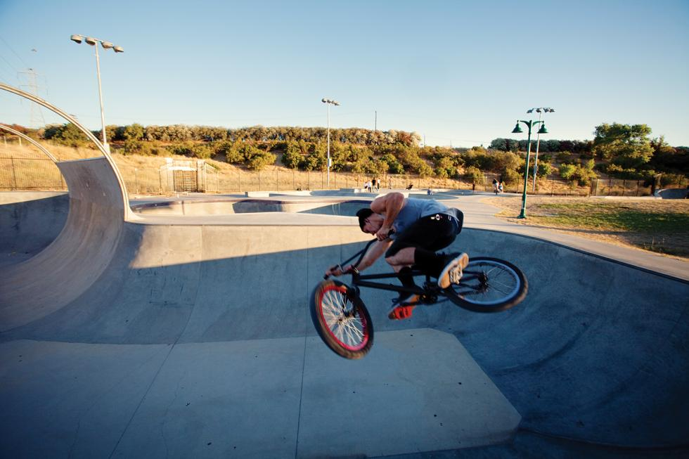 Wally Hollyday designed the 45,000-square-foot park for skateboarders.