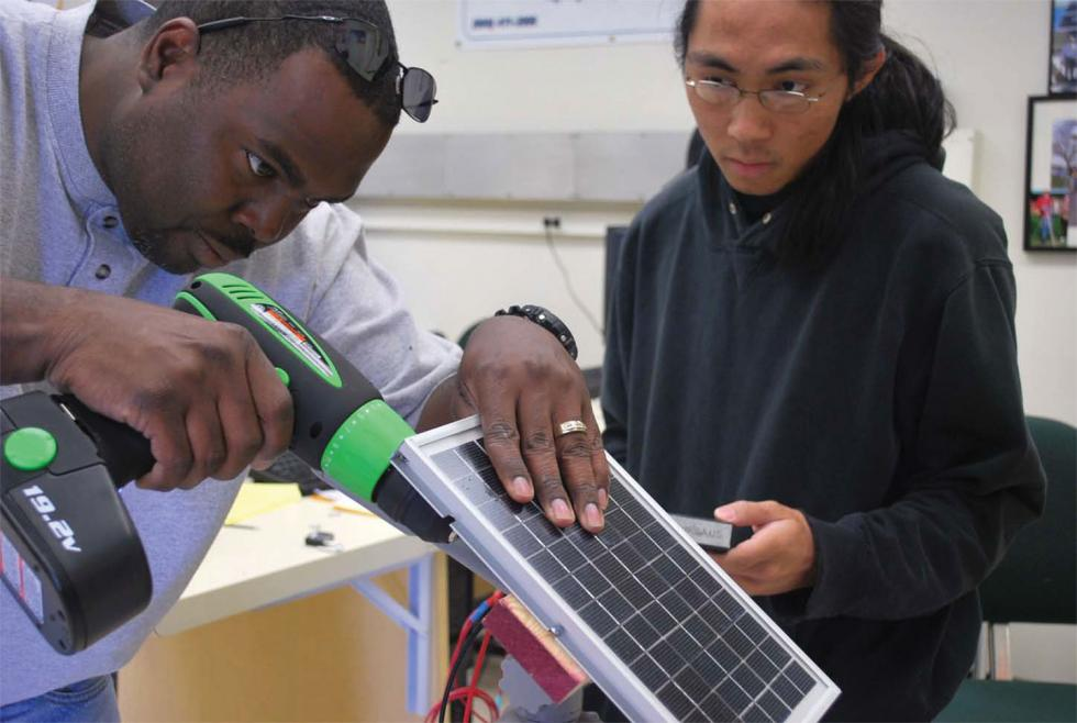 The Los Rios Community College District launched the GreenForce Initiative, introducing technology such as solar panels into the classroom.