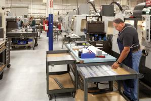 Armstrong Technologies builds high-tech  manufacturing parts at the Auburn Airport Business Park.