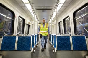 John Haswell has been a light rail vehicle technician at Sacramento Regional Transit for the past seven years.