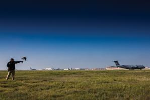 "Travis Air Force Base, one of the U.S. military's busiest passenger and cargo terminal airports, lies smack in the middle of the Pacific Flyway, a migratory path that sees 60 percent of the nation's wintering waterfowl. ""This is the worst place in the world you could ever put a military installation,"" says Master Sgt. Aaron Trudeau."