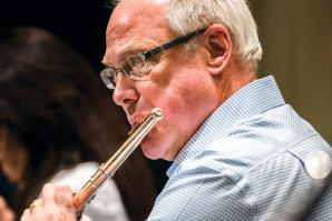 Mathew Krejci is the principal flutist for the Sacramento Philharmonic & Opera