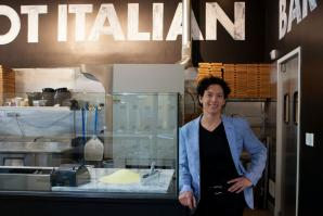 Andrea Lepore co-founded Hot Italian, inspired by her love of pasta, design and sustainability.