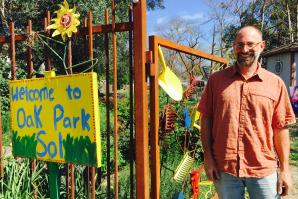 Randy Stannard is the executive director of Oak Park Sol in Sacramento. (Photo courtesy Amber Stott)