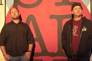 From left: Jessie Jones and John Morris Ross IV originally opened their comedy club to serve as a live studio for their podcast.