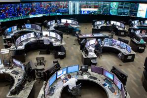 Inside the control room of California ISO, headquartered in Folsom.