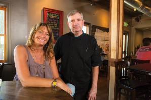 Hampton's on Sutter's manager Jennifer Kipgen and Chef Pete Treleden