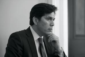 California State Senate pro Tem Kevin de León