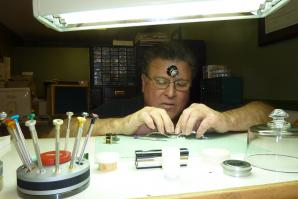 Michael J. Doyle has been a professional watchmaker for nearly 40 years.