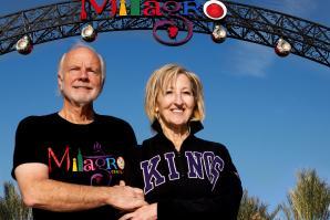 Developers Allan Davis and his late wife Nancy Emerson-Davis  (Susan Maxwell Skinner, Carmichael Archive)