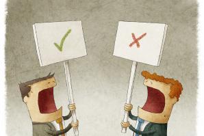 Everyone, please remain civil.   (Shutterstock)