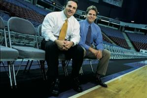 Gavin and Joe Maloof, previous owners of the Sacramento Kings