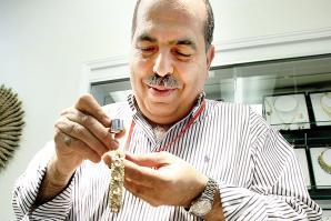 Malmud Sharif, owner, Sharif Jewelers